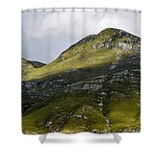 Mountains In Morning Light Shower Curtain