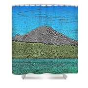 Mountains Majesty Shower Curtain