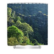 Mountains Of Lousa Shower Curtain