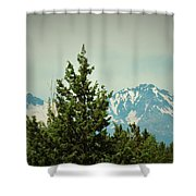 Mountains Of Oregon Shower Curtain