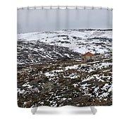 Mountains Of Serra Da Estrela Shower Curtain
