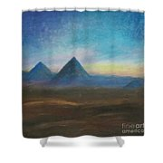 Mountains Of The Desert I Shower Curtain