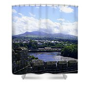 Mountains Of Wales Shower Curtain