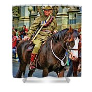 Mounted Infantry 2 Shower Curtain