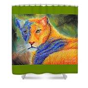 Mountian Lion 1 Shower Curtain