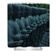 Mourning Row Shower Curtain
