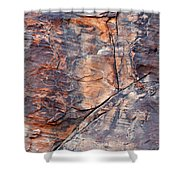 Mouse's Tank Canyon Wall Shower Curtain