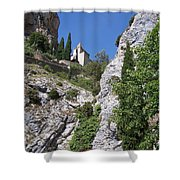 Moustier St. Marie Church Shower Curtain