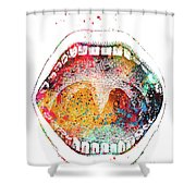 Mouth Anatomy Shower Curtain