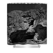 Mouth Of Rock Shower Curtain