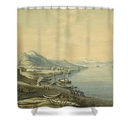 Mouth Of The River Angara  Shower Curtain