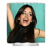Mouth Open Shower Curtain