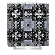 Movement In Abstraction Shower Curtain
