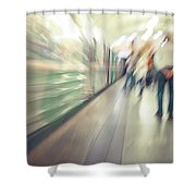 Movement Shower Curtain