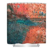 Movement Of Color II Shower Curtain