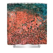 Movement Of Color IIi Shower Curtain