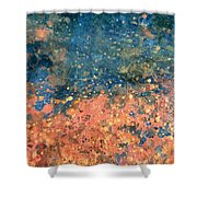 Movement Of Color Vii Shower Curtain