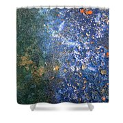 Movement Of Color Viii Shower Curtain