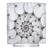Movement Of Sorrow Shower Curtain