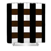 Moveonart 12 Foursquare Shower Curtain