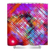 Moveonart A Night On The Town Shower Curtain
