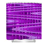 Moveonart Abstract Waves And Light II Shower Curtain