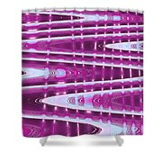 Moveonart Abstract Waves And Light One Shower Curtain