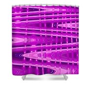 Moveonart Abstract Waves And Light Six Shower Curtain