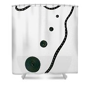 Moveonart Alignment Shower Curtain