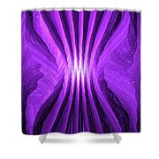 Moveonart Angelicprotection Shower Curtain
