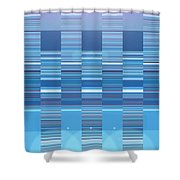 Moveonart Aqua Program Four Shower Curtain