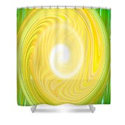 Moveonart Bright Newness 1 Shower Curtain