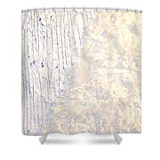 Moveonart Brush Of An Angels Wing 1 Shower Curtain