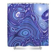 Moveonart Change Of Atmosphere Shower Curtain