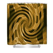 Moveonart Changeofthought Shower Curtain