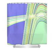 Moveonart Clean Me Up Wave Shower Curtain