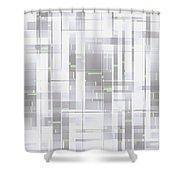Moveonart Clear Creative Technology Shower Curtain