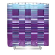 Moveonart Color Duo Program Three Shower Curtain