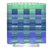 Moveonart Color Duo Program Two Shower Curtain