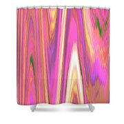 Moveonart Color Mood Waves One Shower Curtain