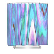 Moveonart Color Mood Waves Two Shower Curtain