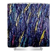 Moveonart Colors In The Dark Shower Curtain