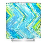Moveonart Crazy Spring Cool Shower Curtain
