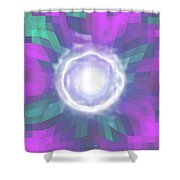 Moveonart Creative Mind Blessing Shower Curtain