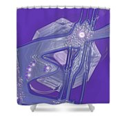 Moveonart Creative Peaceful Creature Four Shower Curtain