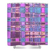 Moveonart Crossing Paths Again Shower Curtain