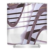 Moveonart Daily Planet Wave 1 Shower Curtain