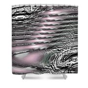 Moveonart Daily Planet Wave 2 Shower Curtain