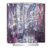 Moveonart Deep Calling Deep Shower Curtain