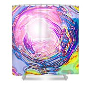 Moveonart Deeper Calling Shower Curtain